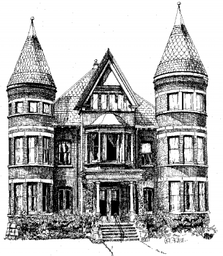 Buchan House Drawing