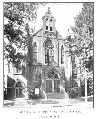 First Baptist Church photograph