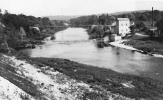 Hall's Mills photograph