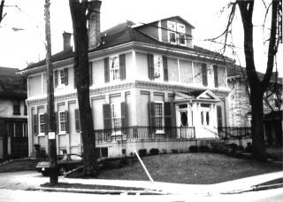 photograph of house where Grace and Susan Blackburn lived